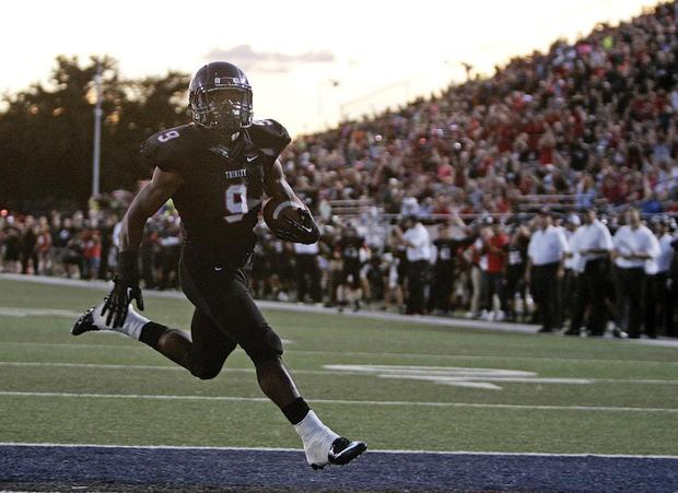 Defense, turnovers help Euless Trinity defeat Rockwall 41-16