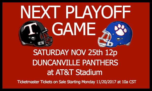 Trinity vs Duncanville Saturday, Nov 25th 12p
