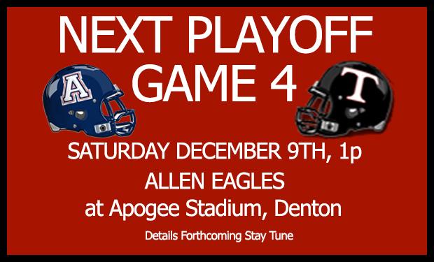 Trinity vs Allen Saturday December 9th 1p