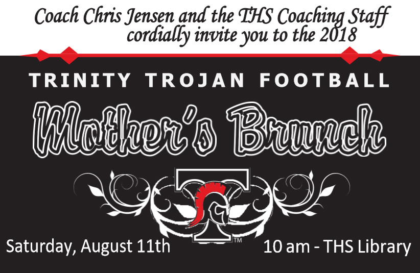 Mother's Brunch 10a August 11th at THS