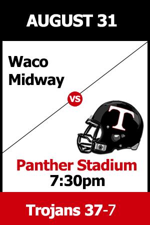 Trinity beats Waco Midway 37-7