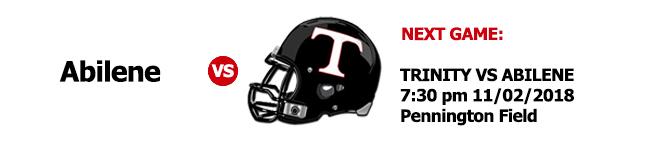 Next Game 11/02/2018 7:30p against Abilene