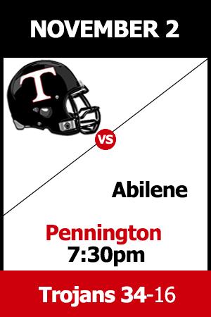 Trinity beats Abilene 34-16