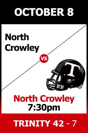 Trinity Beat North Crowley 42-7